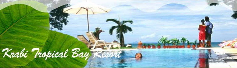 Krabi Tropical Bay Resort - Bungalow Beach Resort Krabi Ao Nang Thailand