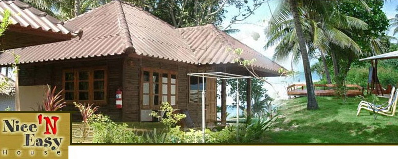 Nice 'n Easy House - Teak Wood Bungalow Resort Koh Lanta Krabi Thailand