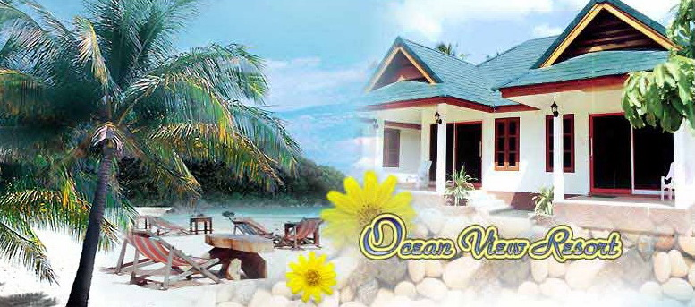 Ocean View Resort - Seaside Resort Koh Lanta Island Krabi Thailand