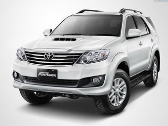 Krabi All Seasons Car Rent offers Competitive Prices Toyota Fortuner