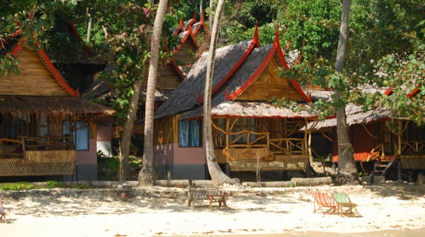 Phi Phi Relax Beach Resort Tropical Bungalow Resort Phi Phi Island Thailand