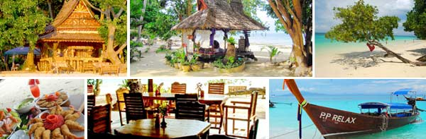 Phi Phi Relax Beach Resort - Tropical Bungalow Resort Phi Phi Island Thailand