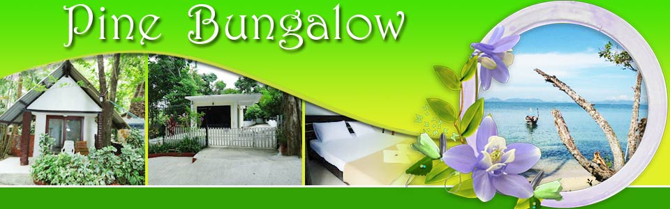 Pine Bungalow - Seaside Bungalows Resort Krabi Thailand