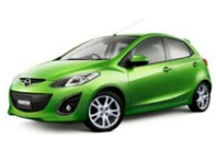 P.J. Krabi Car Rent Mazda2