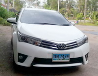 P.J. Krabi Car Rent Toyota Altis