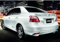 P.J. Krabi Car Rent Toyota Vios