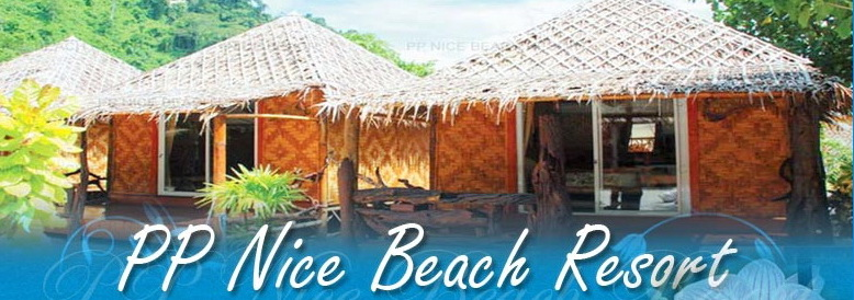 PP Nice Beach Resort - Bungalow Tropical Island of Phi Phi in Krabi Province, Thailand