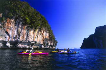 Sea Kayak Krabi Mangrove Forest Karst Sea Canoe Adventures Phang Nga Bay