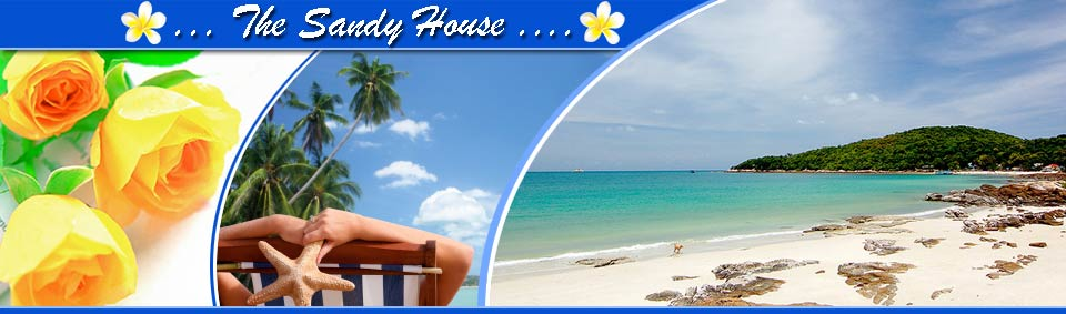 The Sandy House - Guesthouse Bungalow Resort Niang Beach Phang-Nga Thailand